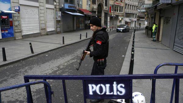Luogo dell'attentato terroristico, Istanbul - Sputnik Italia
