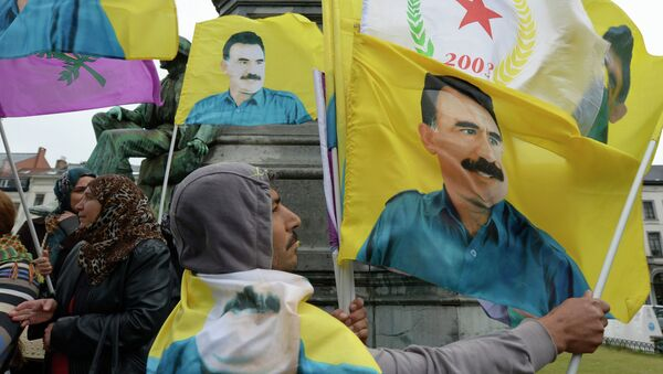Dimostranti curdi - Sputnik Italia