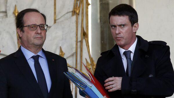 Francois Hollande e Manuel Valls - Sputnik Italia