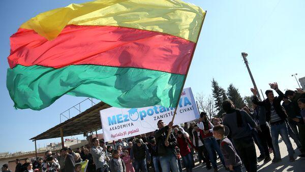 Bandiera del Kurdistan siriano - Sputnik Italia
