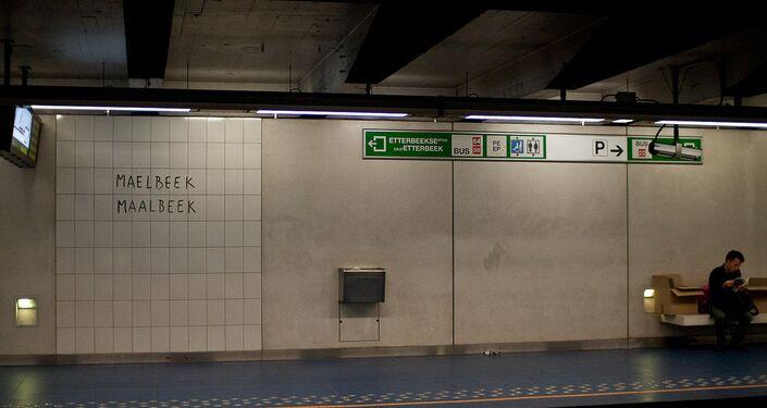 Maelbeek metro station (File)