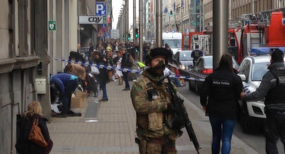 Agente delle forze dell'ordine del Belgio