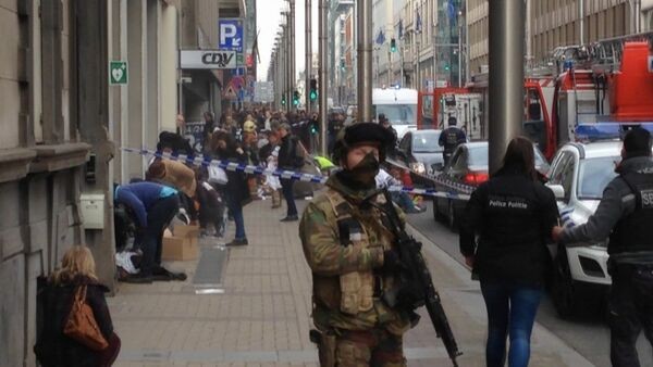 Agente delle forze dell'ordine del Belgio - Sputnik Italia