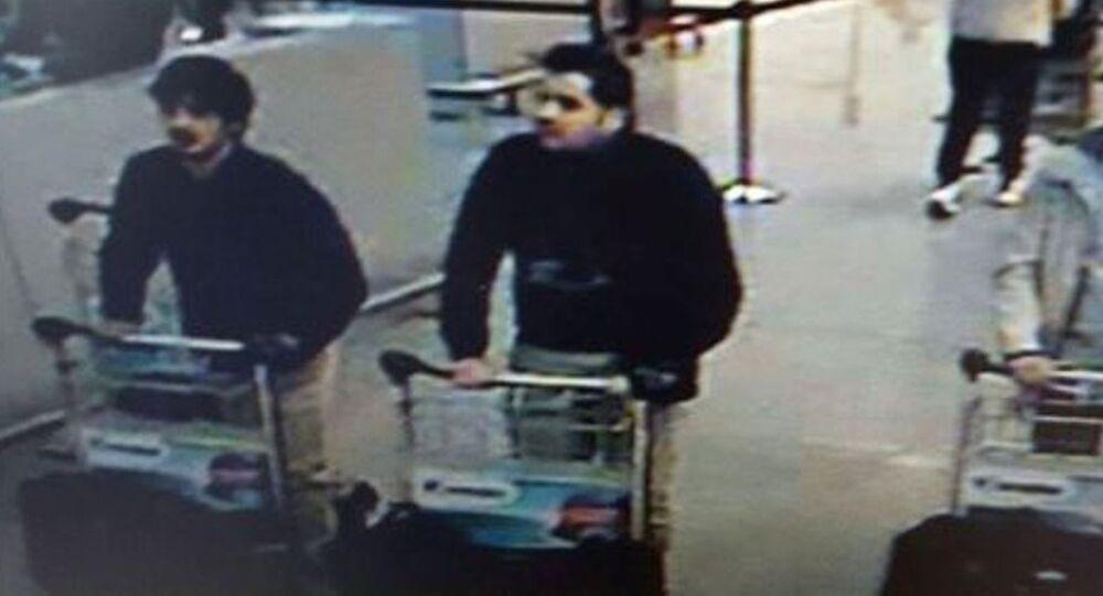 Fratelli Brahim e Khalid Bakraoui all'aeroporto di Bruxelles