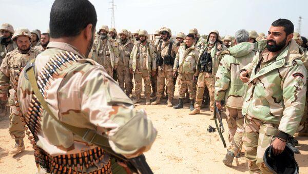Unità Falchi del deserto nei pressi del fronte di Palmira - Sputnik Italia