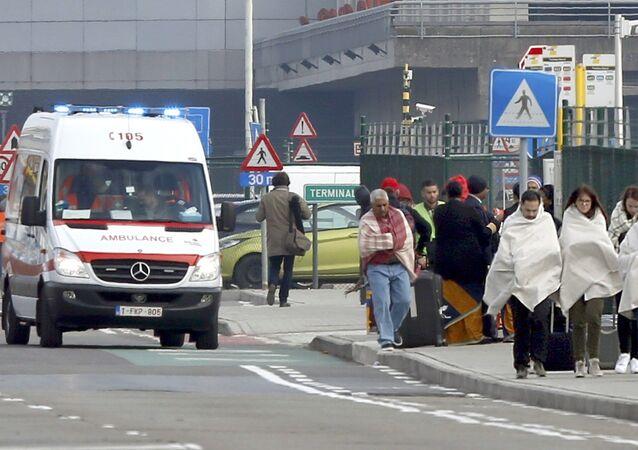Dopo le esplosioni all'aeroporto Zaventem di Bruxelles.