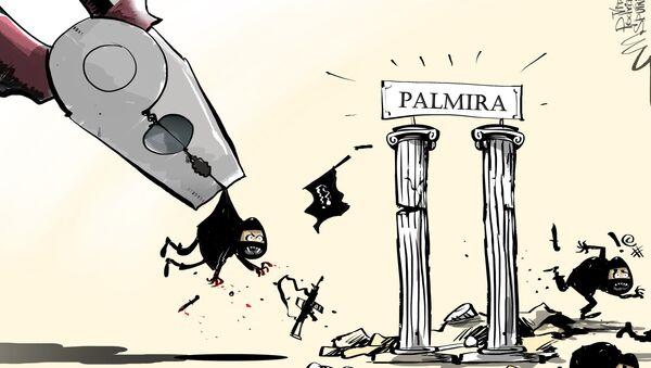 L'esercito siriano riconquista Palmira - Sputnik Italia