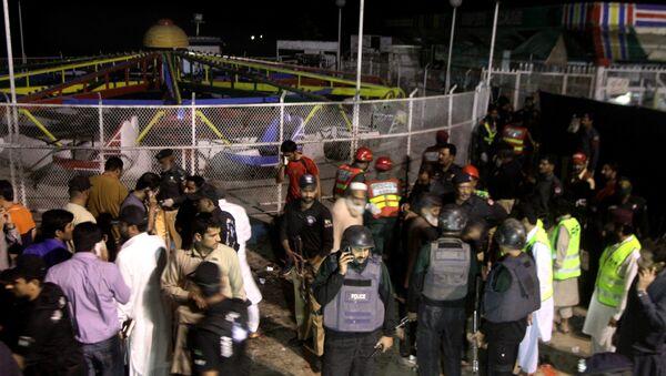Il luogo dell'attentato terroristico a Lahore, Pakistan - Sputnik Italia