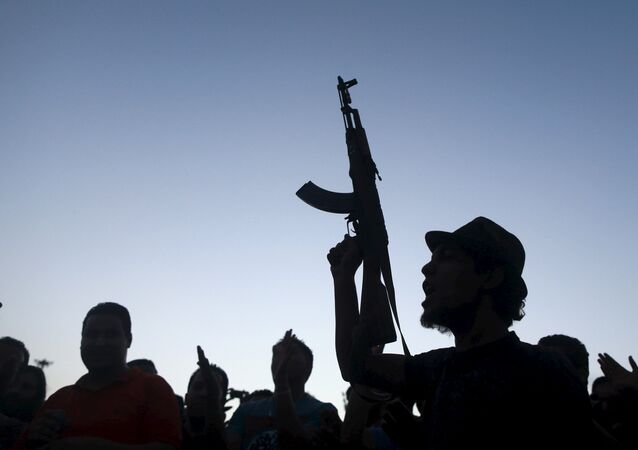 Guerriglieri in Libia
