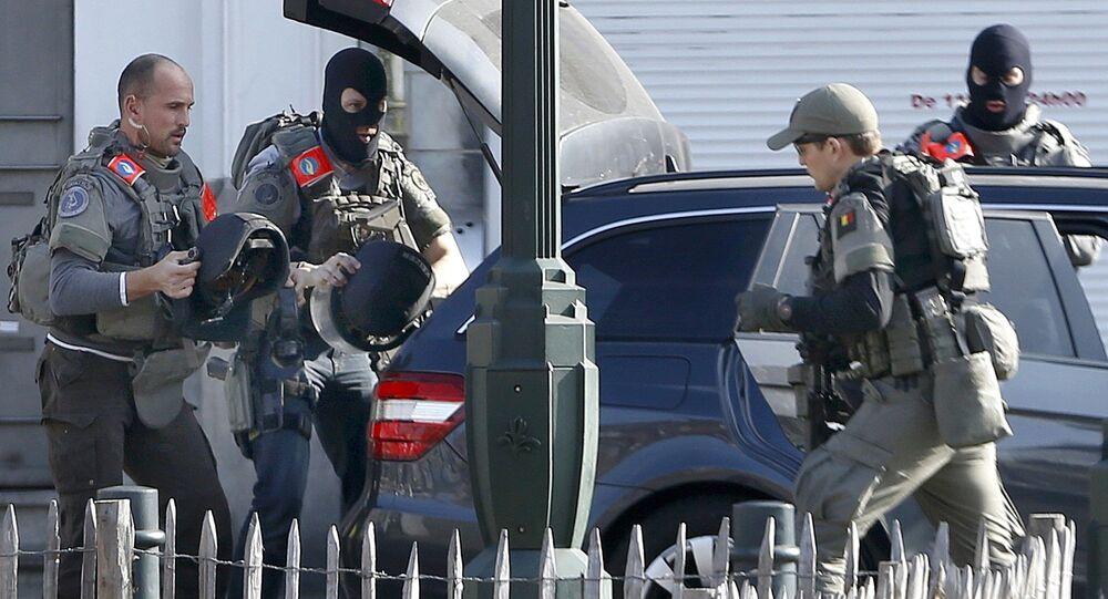 Polizia a Bruxelles