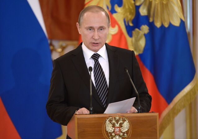 Il presidente della Federazione Russa Vladimir Putin