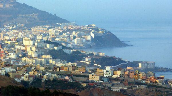 Vista su Ceuta, enclave spagnola in Marocco - Sputnik Italia