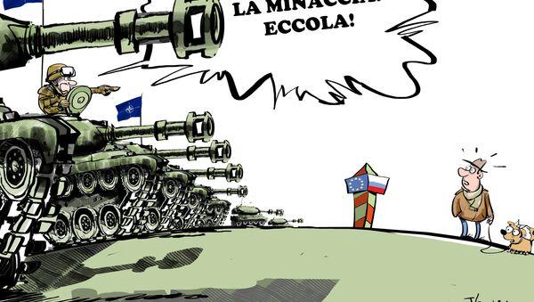NATO all'est contro la minaccia russa - Sputnik Italia