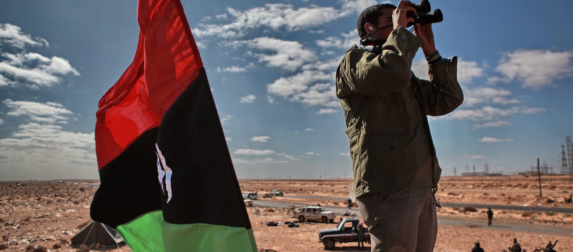 Un militante libico - Sputnik Italia, 1920, 31.03.2016