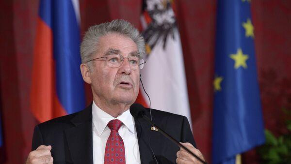 Il presidente austriaco Heinz Fischer - Sputnik Italia