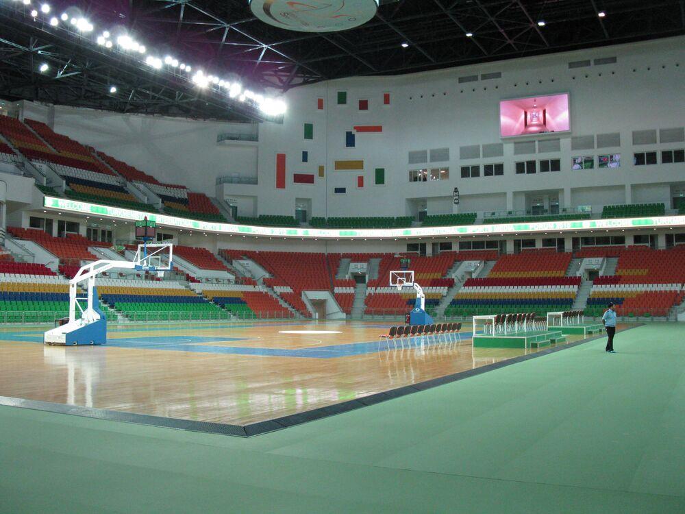 Turkmenistan, Ashgabat l'Arena multisport