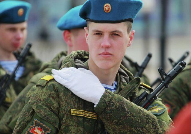 Paracadutisti dell'esercito russo