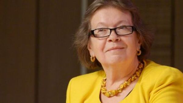 Olga Zinovieva, la direttrice dell`Istituto di Biografia di Alexandr Zinoviev - Sputnik Italia
