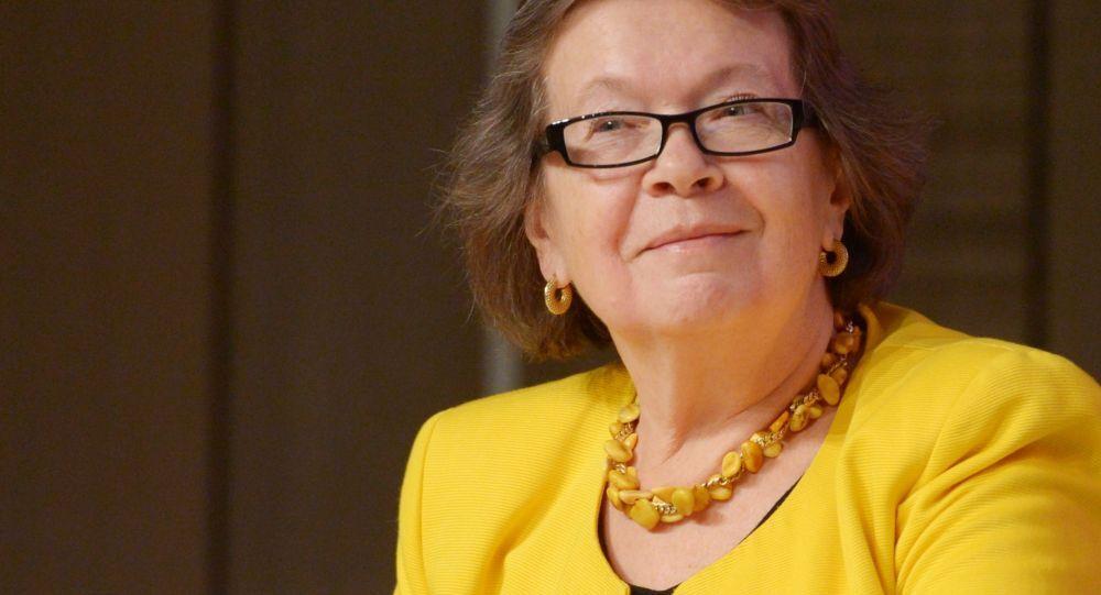 Olga Zinovieva, la direttrice dell`Istituto di Biografia di Alexandr Zinoviev