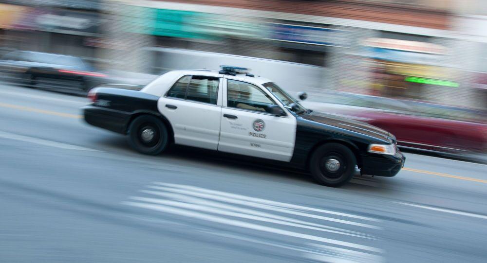 macchina polizia USA