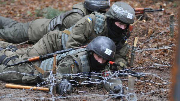 Soldati della Guardia Nazionale ucraina - Sputnik Italia