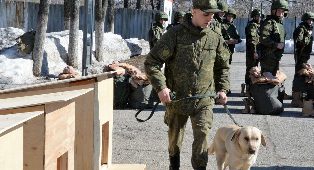 Sminatori russi in partenza per la Siria ( Palmira )