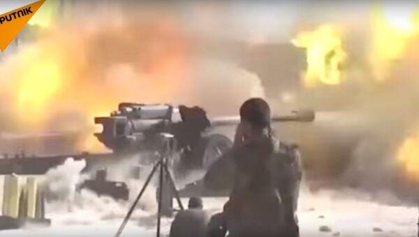 Elicotteri russi KA-52 contro il Daesh - Sputnik Italia