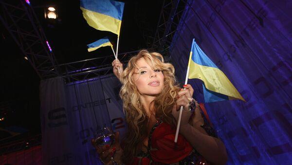 Una cantante ucraina all'Eurovisione del 2009 - Sputnik Italia