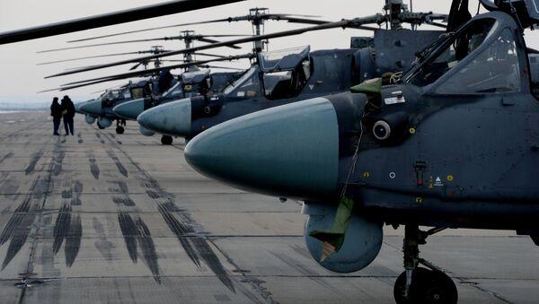Elicotteri Ка-52 - Sputnik Italia