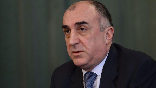Elmar Mammadyarov, ministro degli Esteri azero - Sputnik Italia