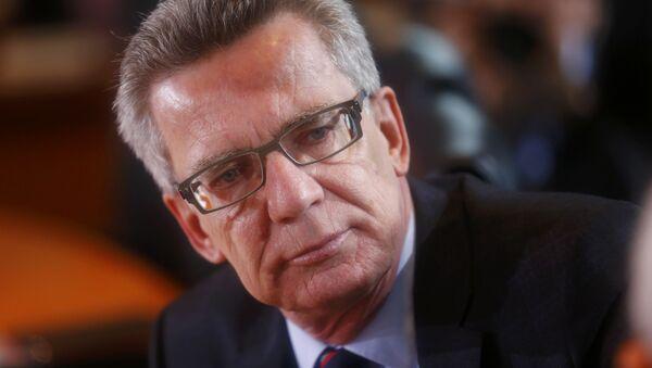 Thomas de Maiziere, il ministro degli Interni della Germania - Sputnik Italia