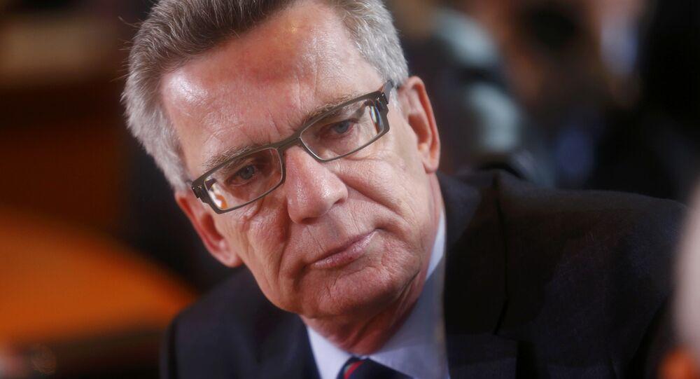 Thomas de Maiziere, il ministro degli Interni della Germania