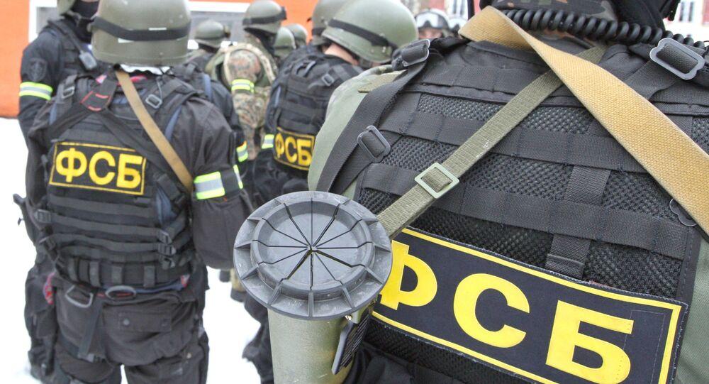 Esercitazioni anti terroristiche del FSB