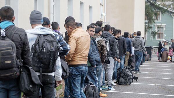 Profughi in Europa (foto d'archivio) - Sputnik Italia