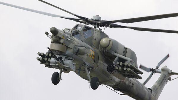 Mi-28 helicopter - Sputnik Italia