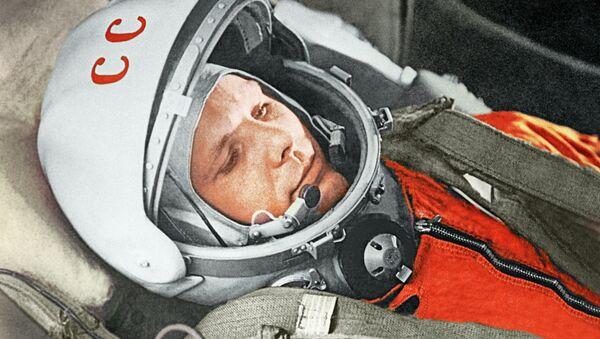 Yuri Gagarin a bordo della navicella Vostok-1 il 12 aprile 1961 - Sputnik Italia