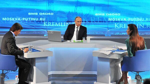 Direct Line with Vladimir Putin - Sputnik Italia