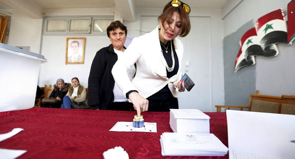 Elezioni parlamentari in Siria (foto d'archivio)