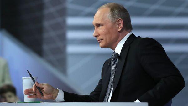 Diretta con Vladimir Putin - Sputnik Italia