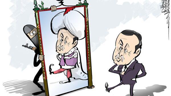 Turchia che assomigna la monarchia del Golfo Persico - Sputnik Italia
