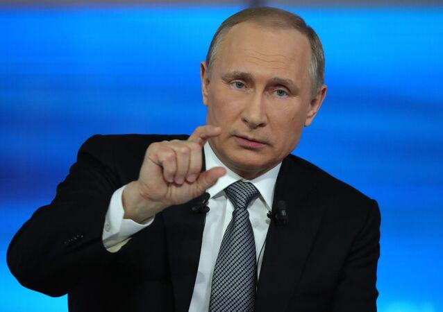 Linea diretta con Vladimir Putin