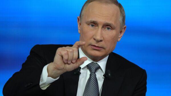 Linea diretta con Vladimir Putin - Sputnik Italia
