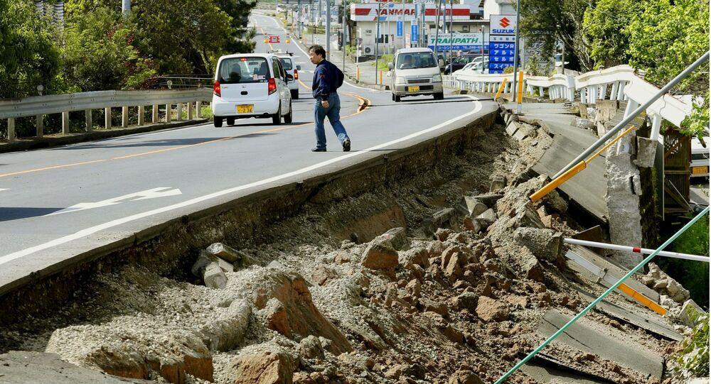 Le conseguenze del terremoto in Giappone