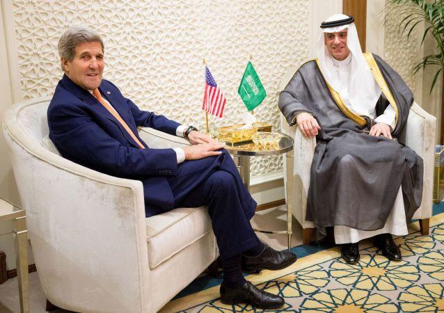 John Kerry e Adel al-Dzhubeyr