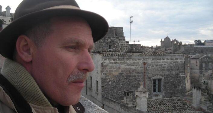 Sergio Pietracito, presidente dell'Associazione vittime del Forteto