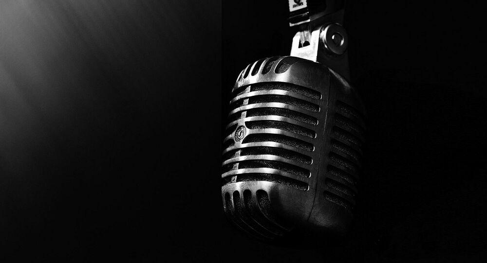 Un microfono