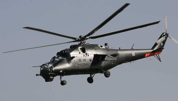 Elicottero Mi-35 - Sputnik Italia