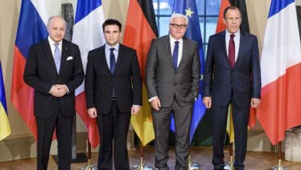 Ministri degli Esteri del formato della Normandia - Sputnik Italia