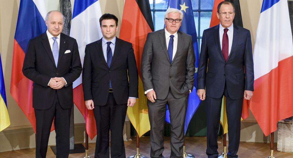 Ministri degli Esteri del Formato della Normandia