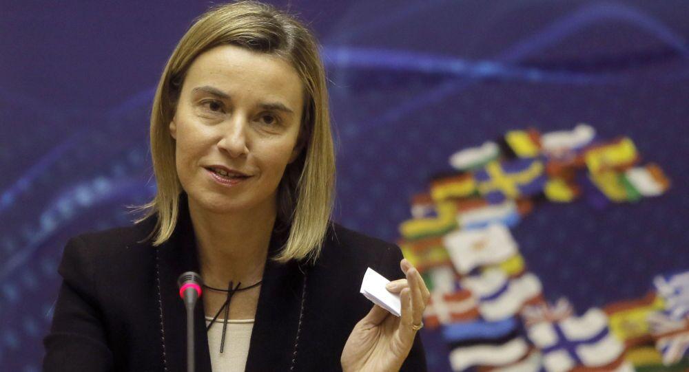 L'Alto rappresentante dell'Unione Europea per gli affari esteri e la politica di sicurezza Federica Mogherini ha confermato la sua visita a Mosca in aprile